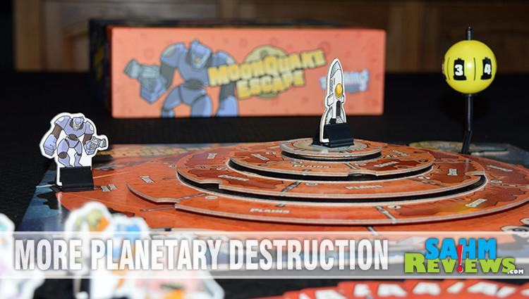 MoonQuake Escape Board Game Overview