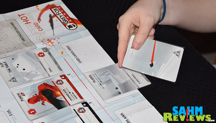 It's another example of a video game turning into a board or card game. This time it's the solo-player SuperHot by Grey Fox Games! - SahmReviews.com