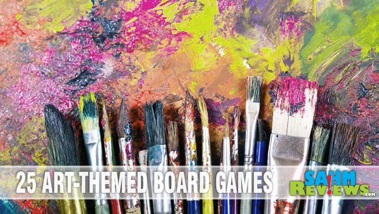 28 Fun Art-Themed Board & Card Games