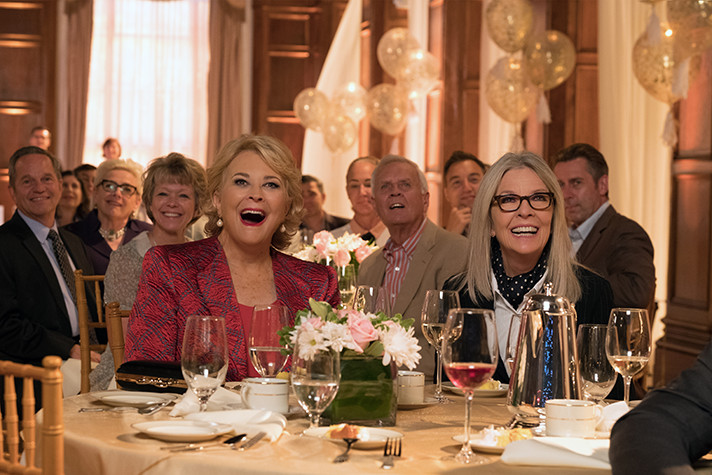 Paramount Pictures' Book Club movie offers a star-studded cast, relatable characters and plenty of laughs. Don't drink too much water or you may find yourself needing to use the restroom! - SahmReviews.com