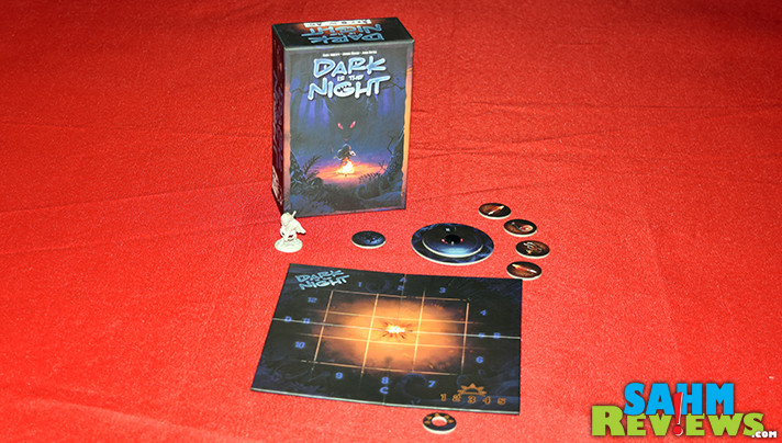 Short playing time? Check. Portable for travel? Check. Tons of fun? Check! This is why Dark is the Night made it into our special travel bag for Origins! - SahmReviews.com