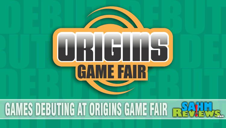 Games Debuting at Origins Game Fair 2018