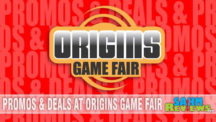 Promos & Deals at Origins Game Fair 2018