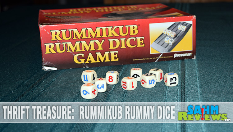 Thrift Treasure: Rummikub Rummy Dice