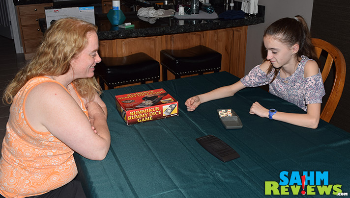 We always pass on Rummikub at thrift since we own a copy or two. But this variation caught our eye. See what we discovered about Rummikub Rummy Dice Game! - SahmReviews.com