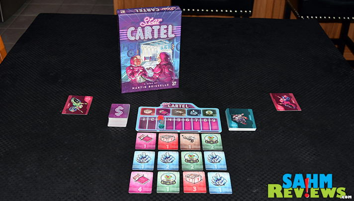 It may be a space-themed game, but Osprey Games' Star Cartel teaches a lesson in financial management by forcing you to keep an eye on the market! - SahmReviews.com