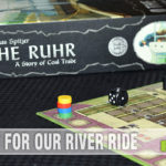 The follow-up to Haspelknecht, The Ruhr: A Story of Coal Trade delivers what Capstone Games promised - a continuation of the story on how coal was mined and transported along with a heavier game that appeals to Euro fans! - SahmReviews.com