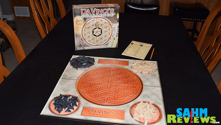 Third time's a charm with Da Vinci's Challenge. We kept finding it at thrift, but it was never complete. Now we finally own a copy! - SahmReviews.com