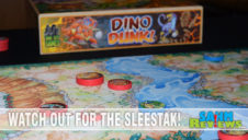 Dino Dunk Dexterity Game Overview