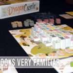 While the components will remind you of Mahjong, that's the end of the similarities. Find out how Dragon Castle is nothing like the classic tile game! - SahmReviews.com