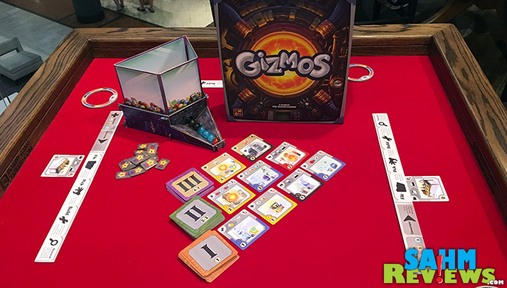Utilize programming concepts to build an engine and cause chain reactions in Gizmos game from CMON. - SahmReviews.com