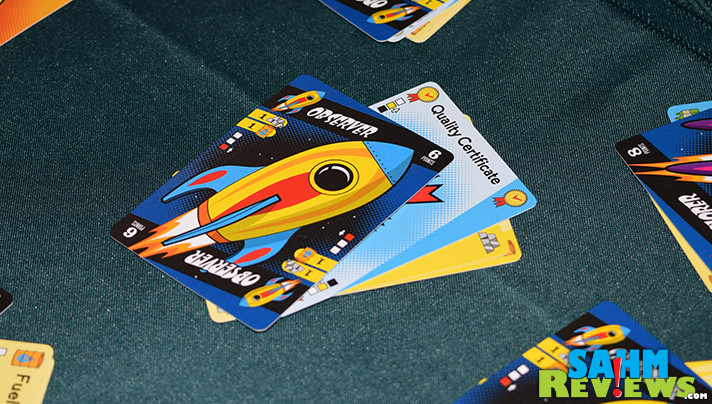 It's pure coincidence we found a space-themed game at thrift after featuring a brand new one a couple days ago. Find out if Launch Pad was worth the price! - SahmReviews.com