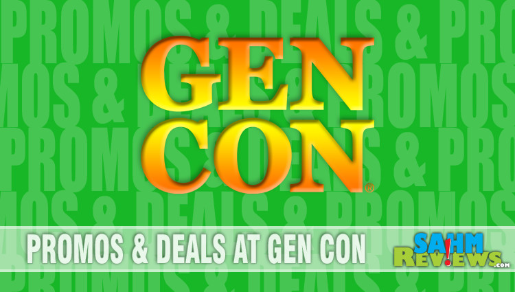 Promos & Deals at Gen Con 2018