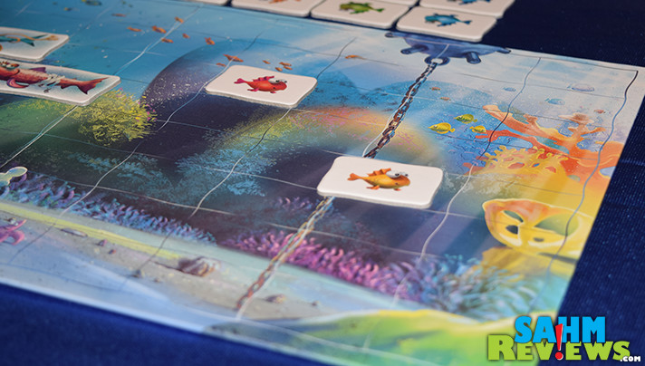 Want kids to play more games? Find ones like Reef Route from Brain Games Publishing that have a theme that resonates. - SahmReviews.com