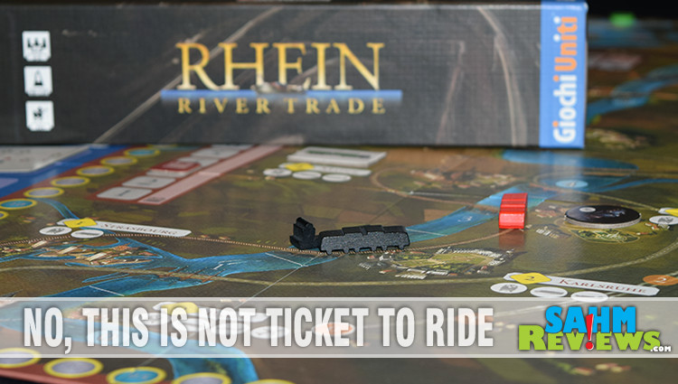 Rhein River Trade Board Game Overview
