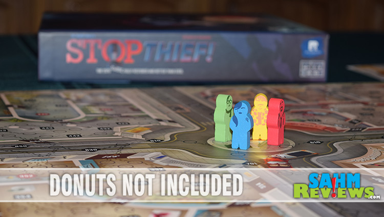 Stop Thief! Board Game Overview