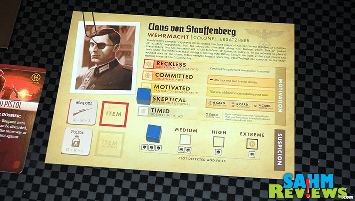 Learn about the history of Nazi Germany and attempts to assassinate Hitler in Black Orchestra cooperative game from Starling Games. - SahmReviews.com