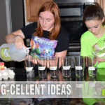 Use DIY STEM experiments in addition to board games, robotics and other fun activities to teach kids about science in an entertaining way. - SahmReviews.com