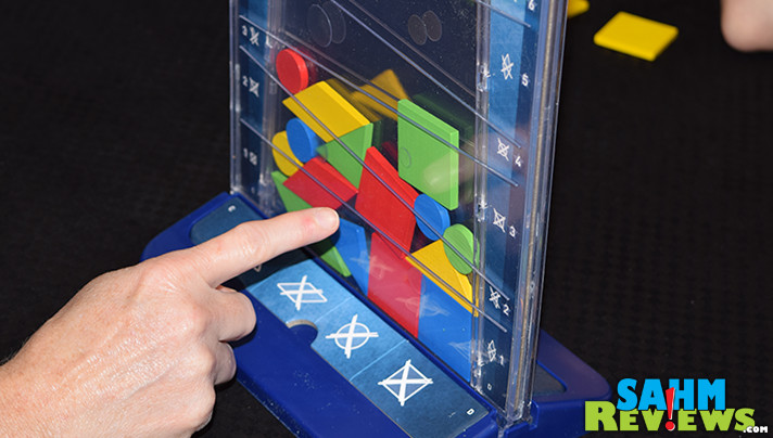 Sort of a combination of Tetris and Connect 4, Drop It by Kosmos is a happy addition to our collection of abstract games. Find out why we had to have it! - SahmReviews.com