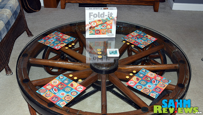Fold-it is the first game we've ever seen to use cloth-folding as the main mechanic. See if you can assemble the right dishes quicker than the other chefs! - SahmReviews.com