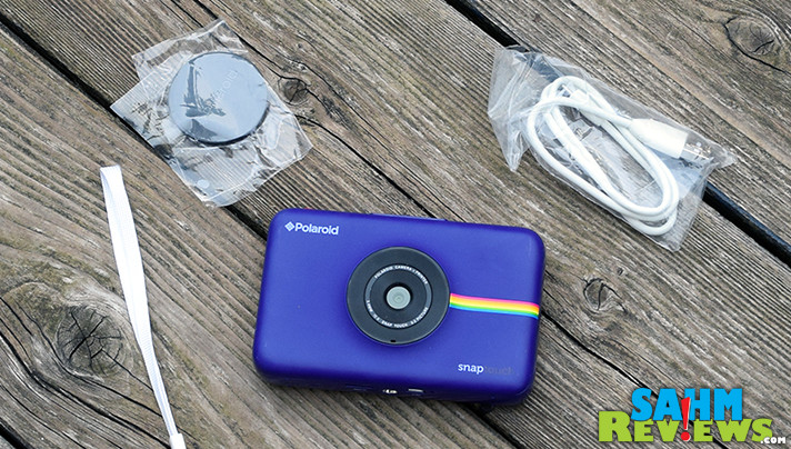 Capture memories then print them out on the go with the Polaroid Snap Touch camera. - SahmReviews.com