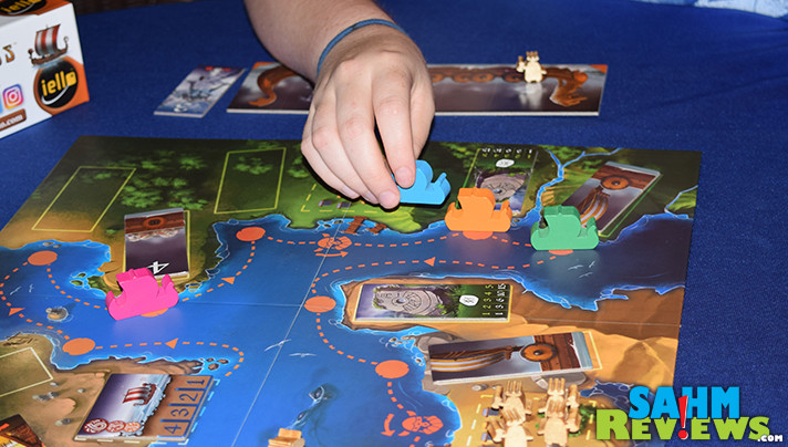 If you're into all things Viking, you'll want to have a copy of iello Games' brand new Raids in your collection. Find out why we're so sure about it! - SahmReviews.com