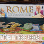 It's a blueprint for success when you help build civic building in Rome: City of Marble from R&R Games. - SahmReviews.com