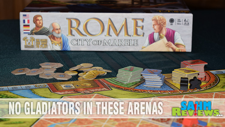 Rome: City of Marble Game Overview
