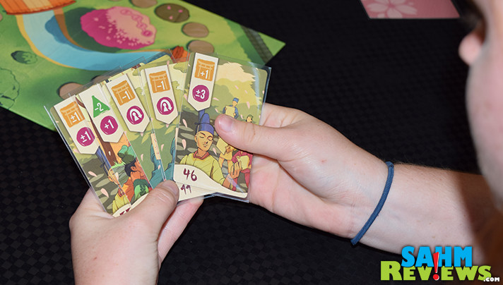 We finally found a new game to supplant Why First as our favorite filler game in our bag. Sakura by Osprey Games is our new game night standard! - SahmReviews.com