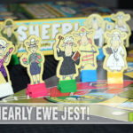 In Sheeple board game, think like the flock as you work toward being the first to get to the ewe-niversity. - SahmReviews.com