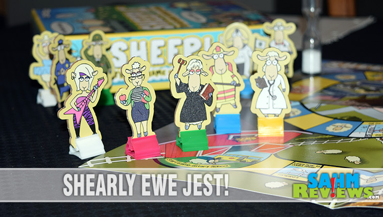 First Look: Sheeple Board Game
