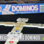 In our opinion, UNO Dominos is a better version of UNO than the original card game! Find out what makes it better and why it is this week's Thrift Treasure! - SahmReviews.com