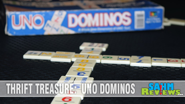 Thrift Treasure: UNO Dominos