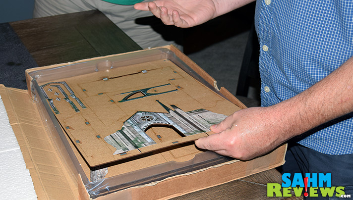 Playing an RPG game is all about using your imagination, but sometimes the brain needs a little help. New Warhammer scenery from Games06 is our solution. - SahmReviews.com