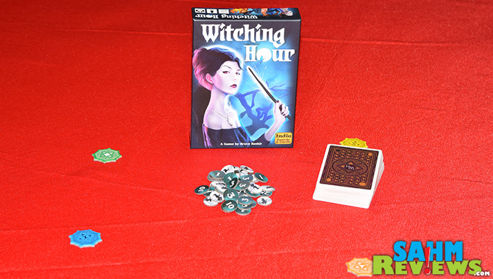 We happened across another witch-themed game to add to our collection. Check out what we saw in Indie Boards & Cards' new card game, Witching Hour! - SahmReviews.com