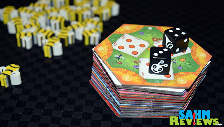 Sweeten your game shelf with Beeeees! dice game from Indie Boards and Cards. - SahmReviews.com