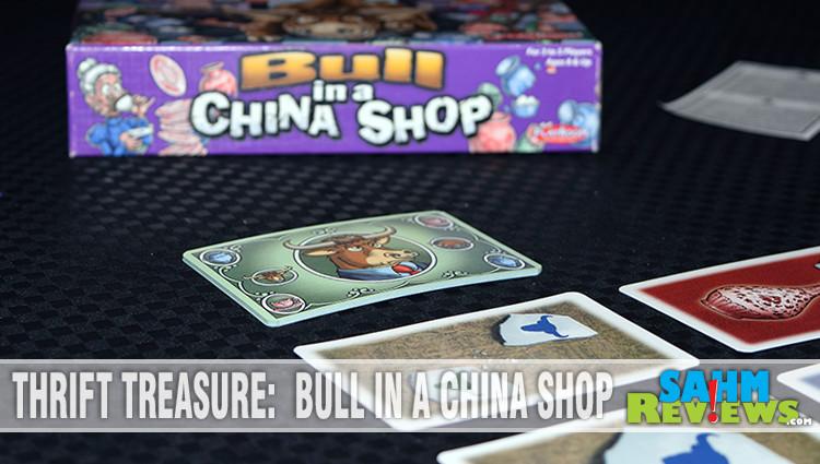 Thrift Treasure: Bull in a China Shop
