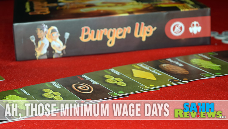 Burger Up Card Game Overview