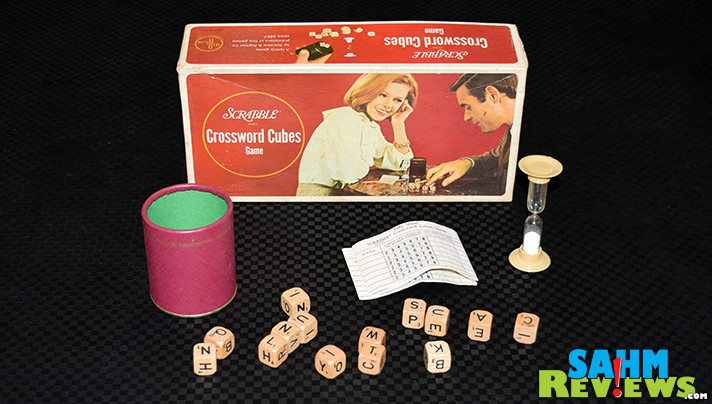 It's almost like a 3-D version of Scrabble. Crosswords Cubes has you rolling dice to see what letters you get to spell with! - SahmReviews.com