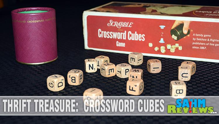 Thrift Treasure: Crossword Cubes