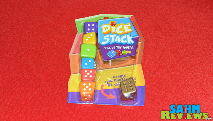 It's similar to Wonky, but without the cards and adds dice to the mix. Check out Dice Stack by Blue Orange Games on SahmReviews.com!