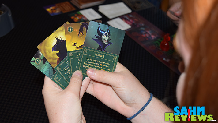 Take on the role of your favorite bad guy and work to be the first to achieve your objective in Disney Villainous game. - SahmReviews.com