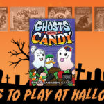 After the candy is gone, sit down with the family and play some Halloween games! - SahmReviews.com