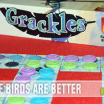 Grackles strategy game from Fireside Games is about birds hanging out on power lines. - SahmReviews.com