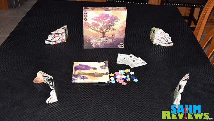 The Legend of the Cherry Tree that Blooms Every Ten Years by iello is a mouthful to say, but not near as difficult to play. Find out why at SahmReviews.com!