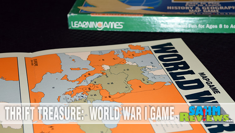 Thrift Treasure: World War I Game