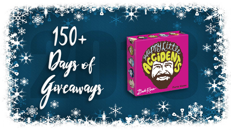 Bob Ross: Happy Little Accidents Game Giveaway
