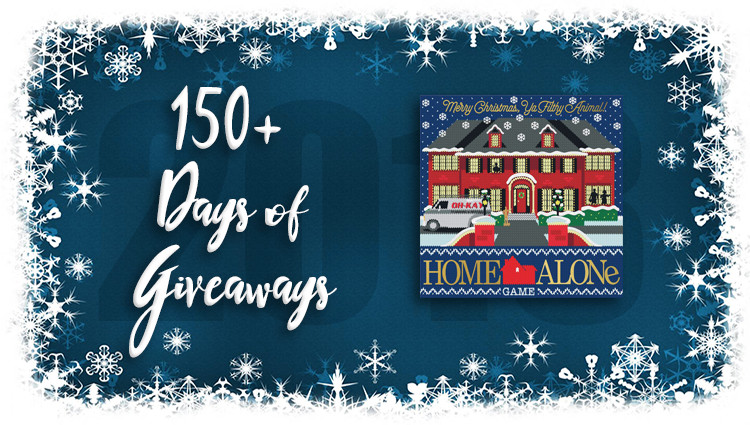 Home Alone Game Giveaway