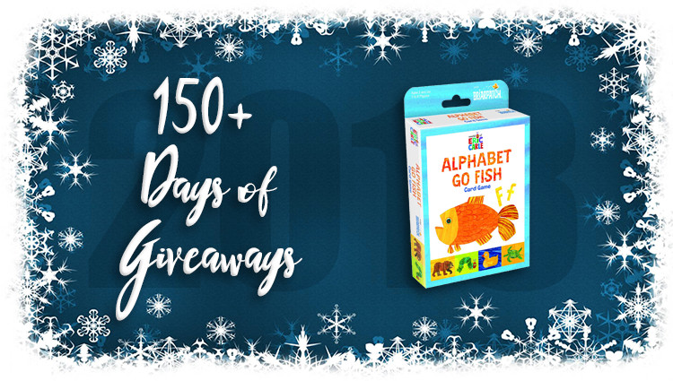 Alphabet Go Fish Game Giveaway