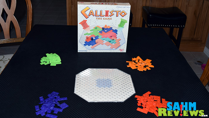 Callisto is a mashup of Surround and Tetris and supports up to four players! Find out if our Thrift Treasure is one you should be on the lookout for! - SahmReviews.com